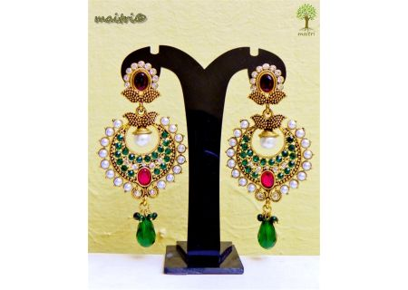 1Brass Alloy Earrings EJBA24