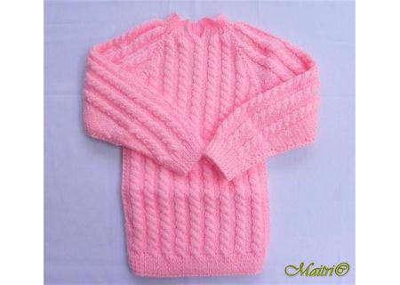24 Months -  Handmade Baby Woolen Sweater Set BW07