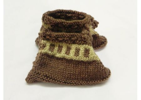 Handmade Baby Woolen Socks BWS00