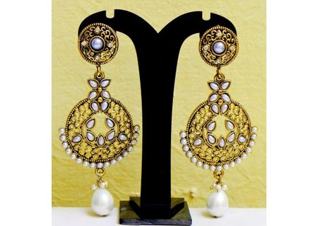 1Brass Alloy Earrings EJBA11
