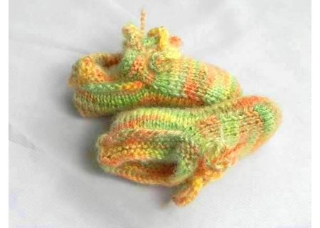 Handmade Baby Woolen Socks BWS01
