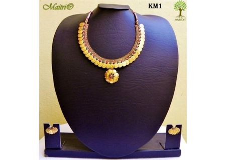 Coin Necklaces Set - Kasu Mala - KM1