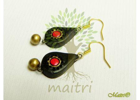 Terracotta Jewelry - Terracotta Earring TEC110b