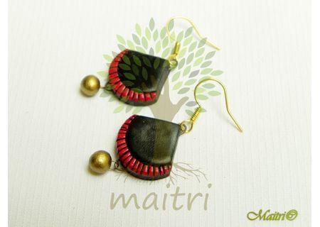 Terracotta Jewelry - Terracotta Earring TEC110d