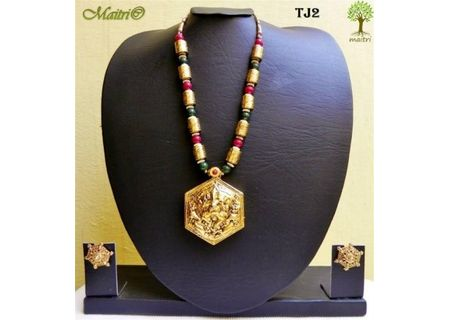 Temple Jewelry - Temple Necklace Set - TJ2