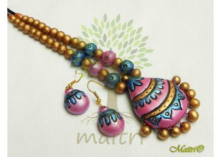 Terracotta Jewelry - Terracotta Set TSB206a