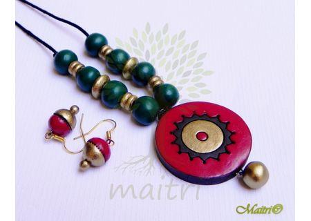 Terracotta Jewelry - Terracotta Set TSC202