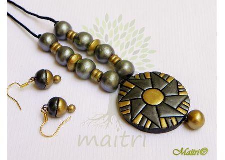 Terracotta Jewelry - Terracotta Set TSC212
