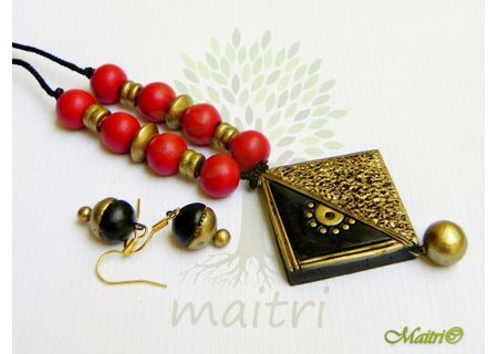 Terracotta Jewelry - Terracotta Set TSC233