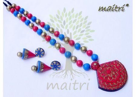 Terracotta Jewelry - Terracotta Set TSC416b