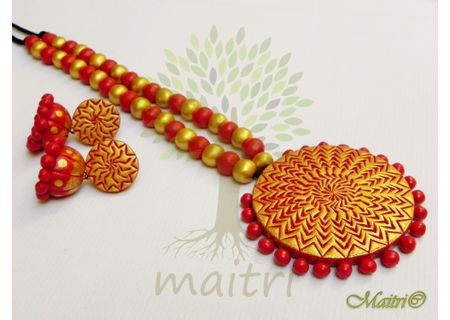 Terracotta Jewelry - Terracotta Set TSD503