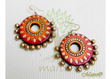 Terracotta Earring - Exclusive TEC438