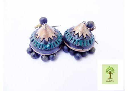 00Terracotta Jewelry - Terracotta Earring TEZ23