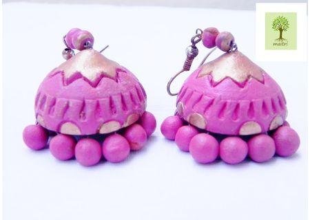 00Terracotta Jewelry - Terracotta Earring TEZ09