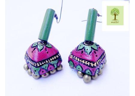 00Terracotta Jewelry - Terracotta Earring TEZ21