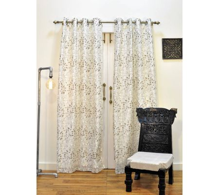 Sale Ariana ARC 2 IN 1 Beige Door Curtain ...