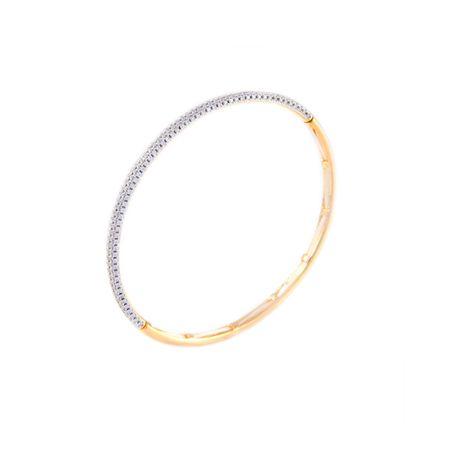 Gold Plated Delicate Zircon Bracelet