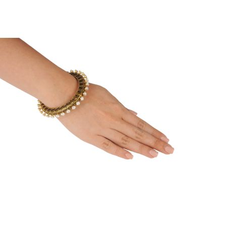 Gold Plated Solitare Braclet