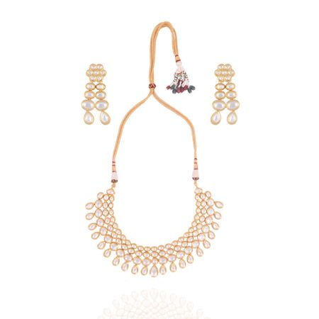 Gold Plated Tier Necklace