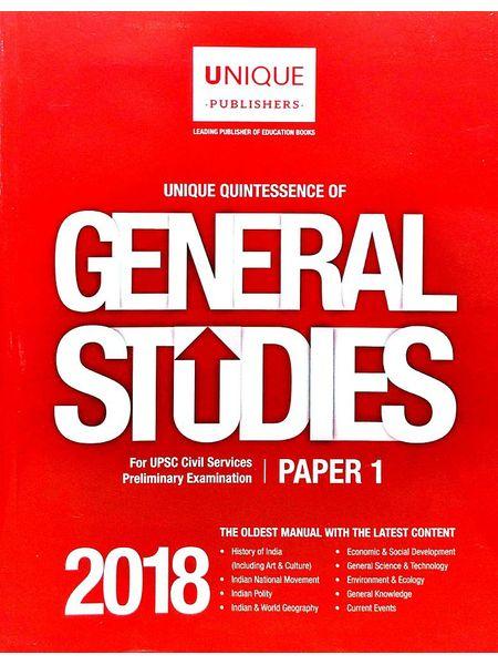 General Studies 2018 Paper 1 By J K Chopra-(English)