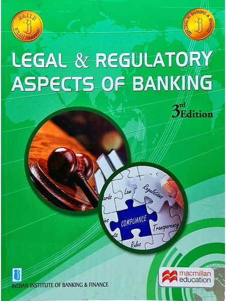 Legal And Regulatory Aspects Of Banking By Indian Institute Of Banking And Finance-(English)