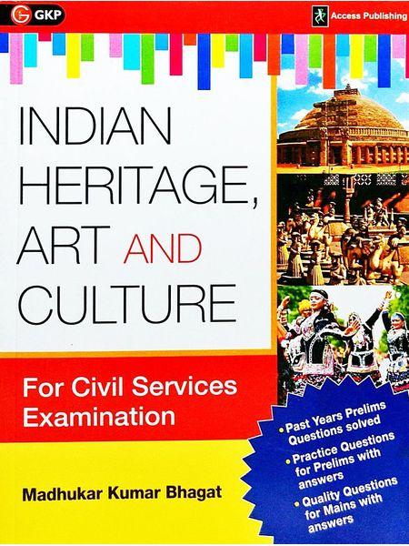 Indian Heritage, Art And Culture By Madhukar Kumar Bhagat-(English)