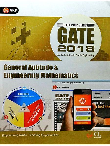 Gate 2018 General Aptitude & Engineering Mathematics By Editorial Team-(English)