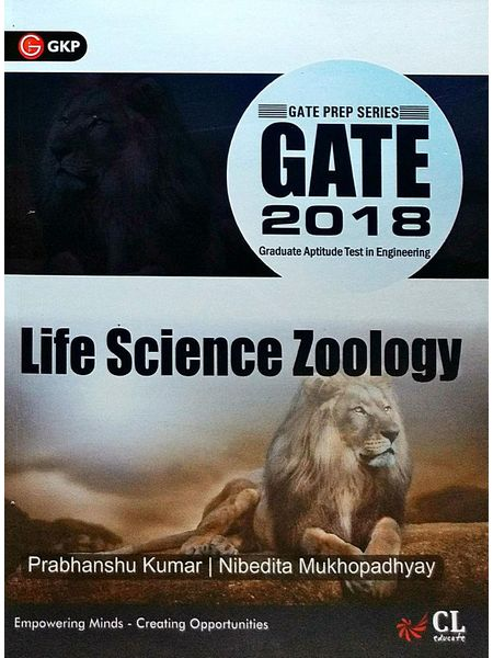 Gate 2018 Guide Life Science Zoology By Er Prabhanshu Kumar, Dr Nibedita Mukhopadhyay-(English)