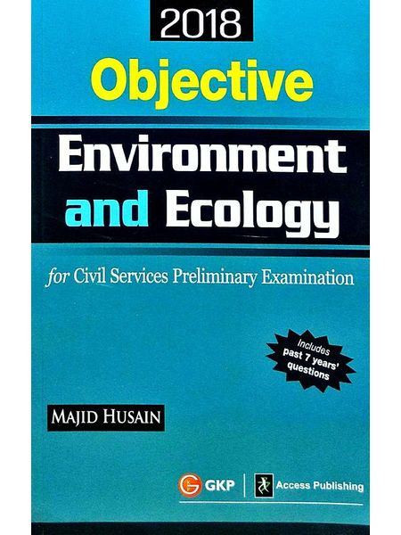Objective Environment & Ecology For Civil Services Preliminary Examination By Majid Husain-(English)