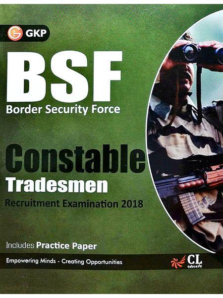 Bsf Border Security Force Constable Tradesman Recruitment Examination By Editorial Team-(English)