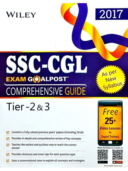 Wiley'S Ssc Cgl Exam Goalpost Comprehensive Guide Tier 2 & 3 By Editorial Team-(English)