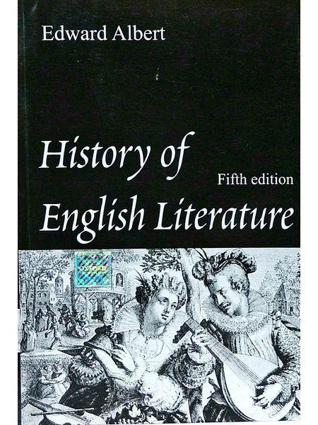 History Of English Literature By Edward Albert-(English)