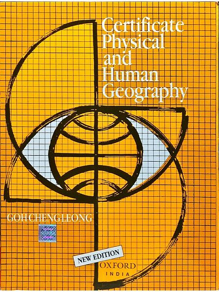 Certificate Physical And Human Geography By Goh Cheng Leong-(English)