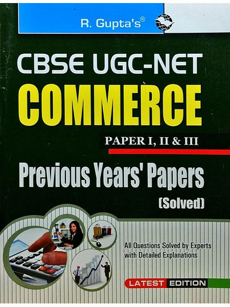 Cbse-Ugc-Net Commerce Previous Papers By Dr Sima Kumari-(English)