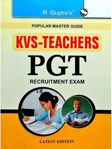 Kvs Teachers Pgt Recruitment Exam Guide Popular Master Guide By Rph Editorial Board-(English)