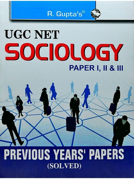 Ugc-Net Sociology Previous Papers Solved By Rph Editorial Board-(English)