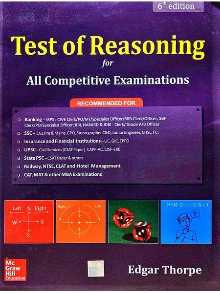 Test Of Reasoning By Edgar Thorpe-(English)