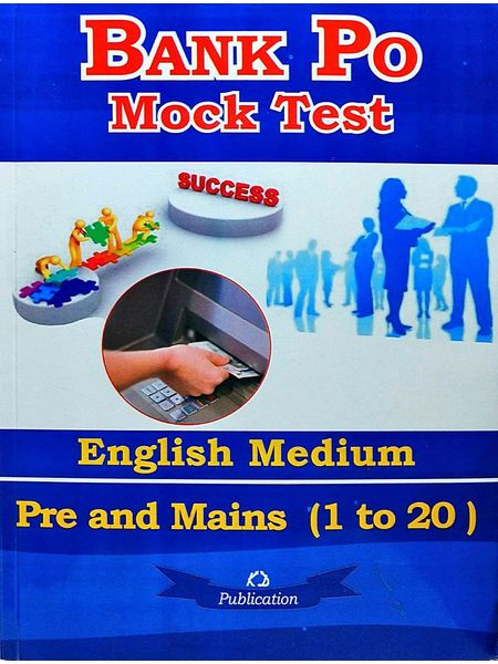 Bank Po Mock Test Pre And Mains 1 To 20 By Neetu Singh-(English)