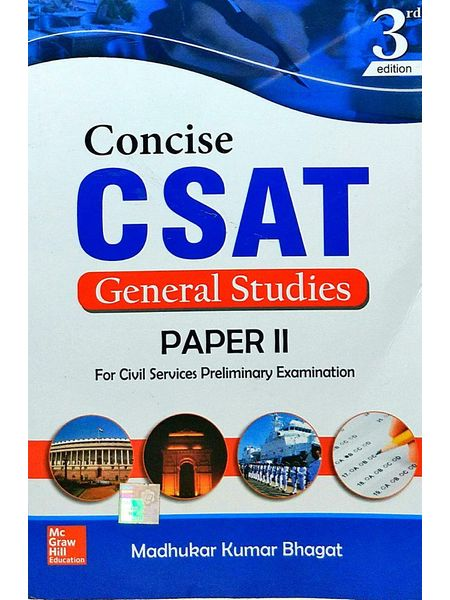 Concise Csat For Gs Paper 2 By Madhukar Kumar Bhagat-(English)