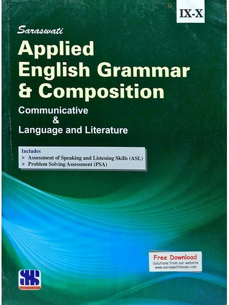 Applied English Grammar And Composition By Dr Madan Mohan Sharma-(English)
