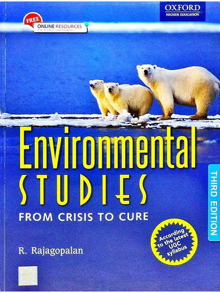 Environmental Studies From Crisis To Cure By R Rajagopalan-(English)