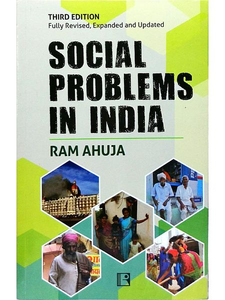Social Problems In India By Ram Ahuja-(English)