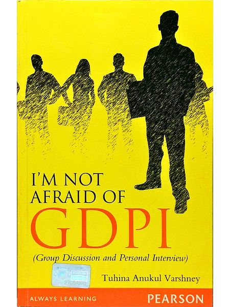 I'M Not Afraid Of Gdpi By Tuhina Anukul Varshney-(English)