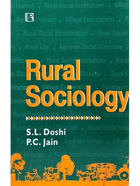 Rural Sociology By S L Doshi, P C Jain-(English)