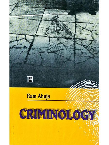 Criminology By Ram Ahuja-(English)