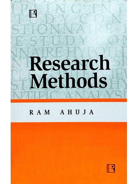 Reserarch Methods By Ram Ahuja-(English)