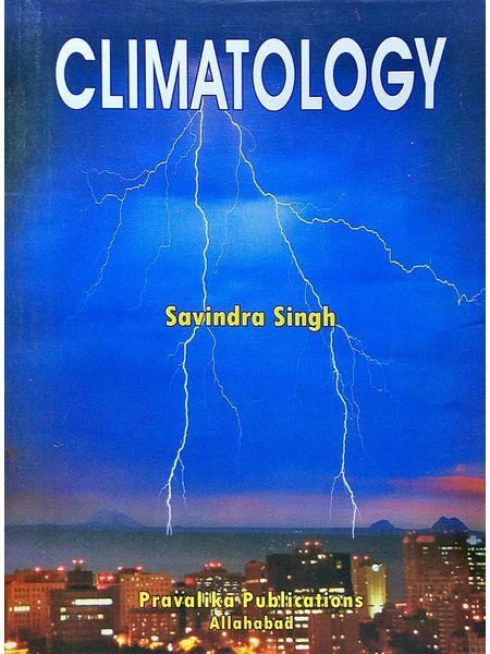 Climatology By Savindra Singh-(English)
