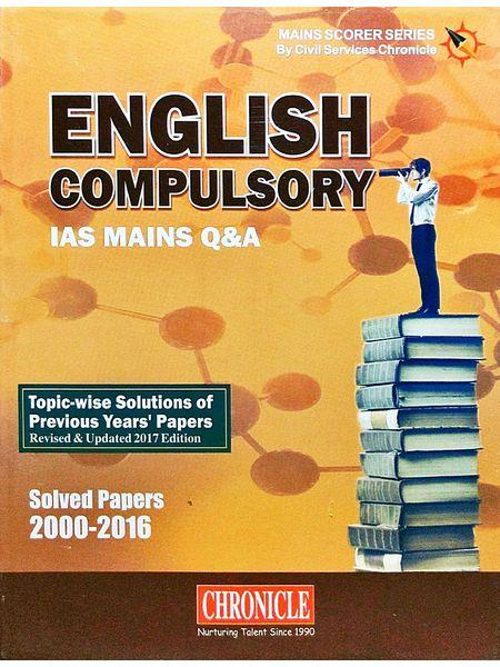 English Compulsory Q&A Ias Main Solved Papers 2000-2016 By N N Ojha-(English)