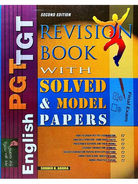 Revision Book With Solved & Model Papers Tgt/Pgt English By Dr Sudhir, K Arora-(English)