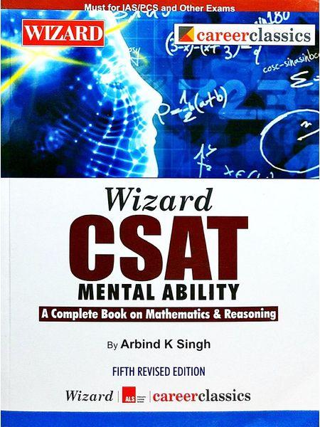 Csat Mental Ability By Arbind K Singh-(English)